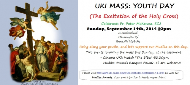 UKI Youth Mass 2014